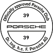 Officially approved Porsche Club 39
